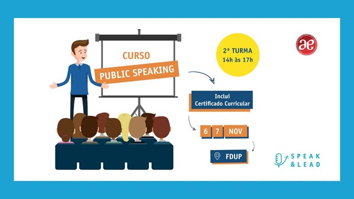 Curso Public Speaking - FDUP