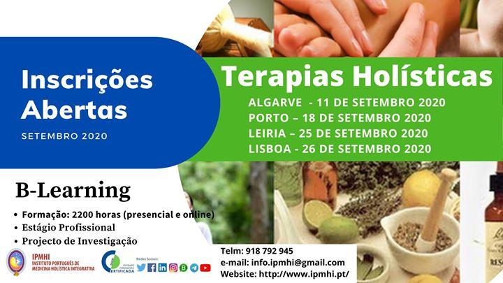 Leiria-Formação Certificada Terapias Holísticas