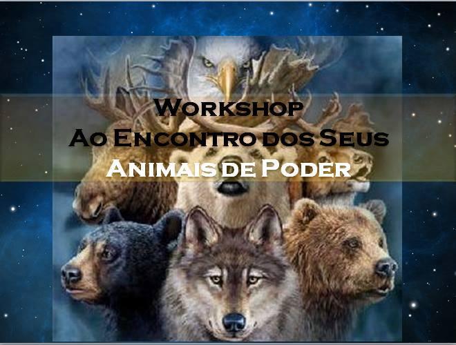Workshop 'Ao Encontro dos Seus Animais de Poder'