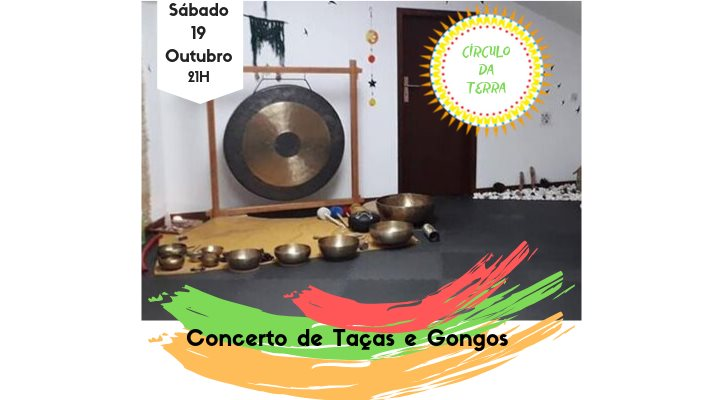 Concerto Tibetano de Taças e Gongos