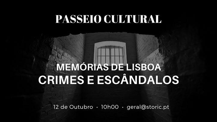 Crimes e Escândalos - Passeio Cultural