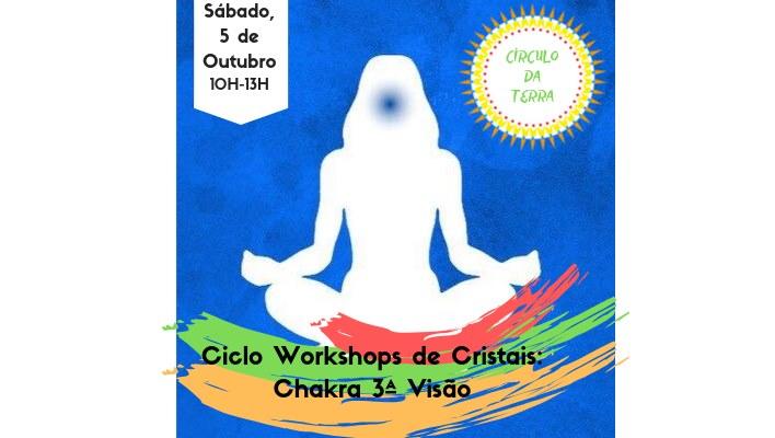 Ciclo de Workshop de Cristais: Chakra 3ª Visão