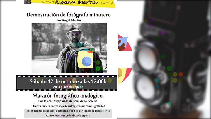 "III festival de fotografía analógica ""Ricardo Martín"""