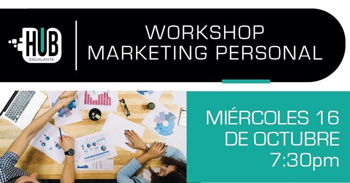 Workshop:Marketing Personal