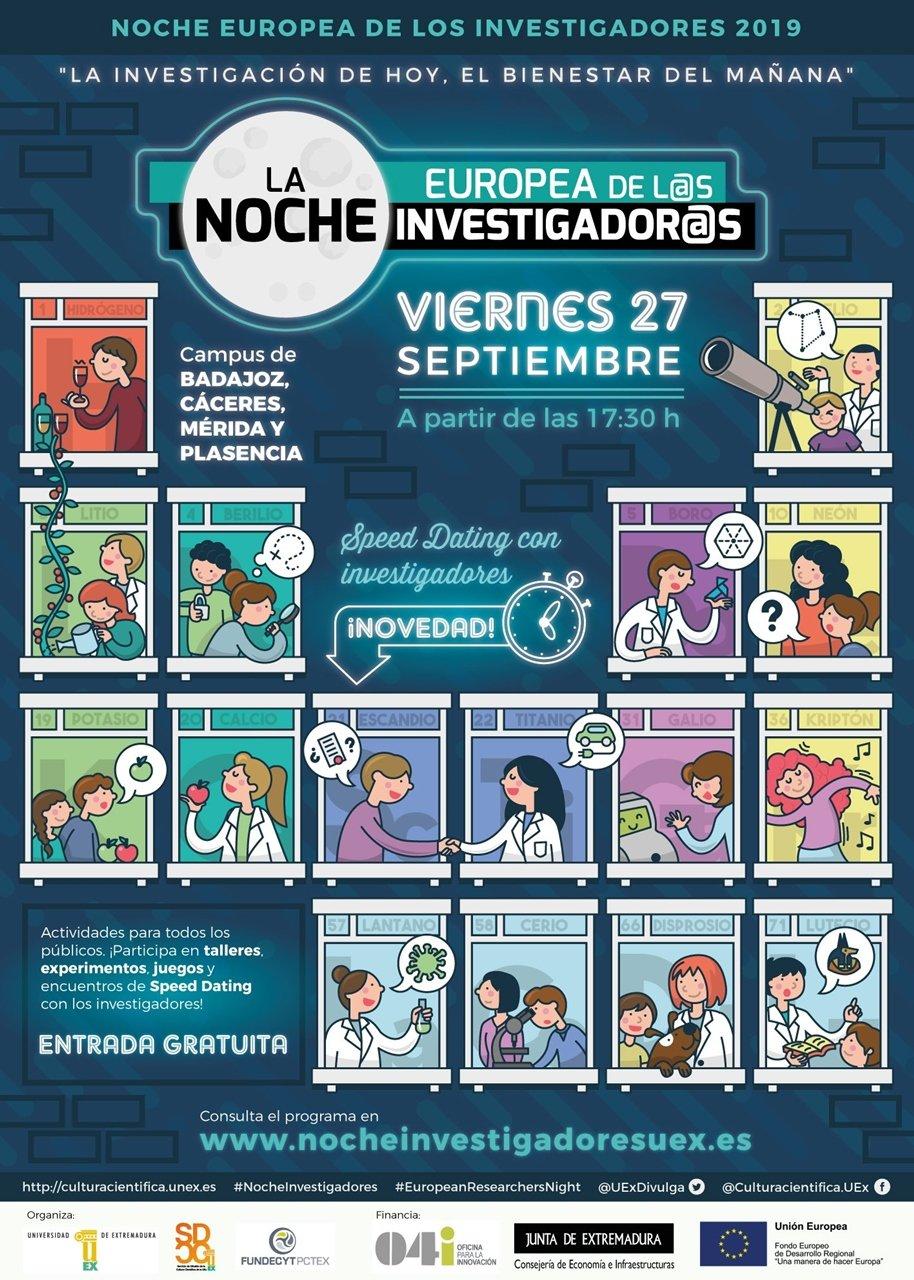La Noche Europea de los Investigadores 2019