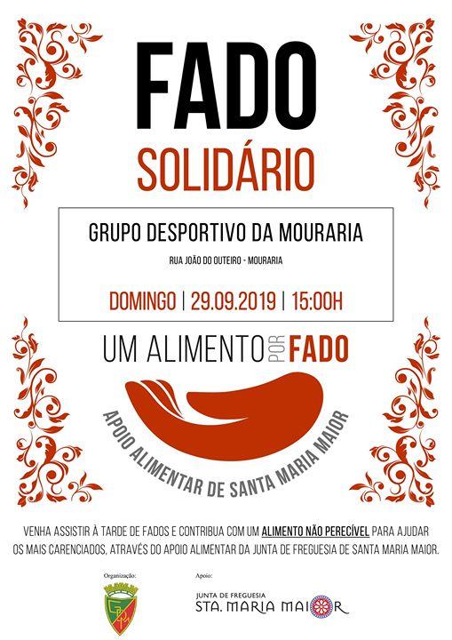 Fado Solidário | Mouraria