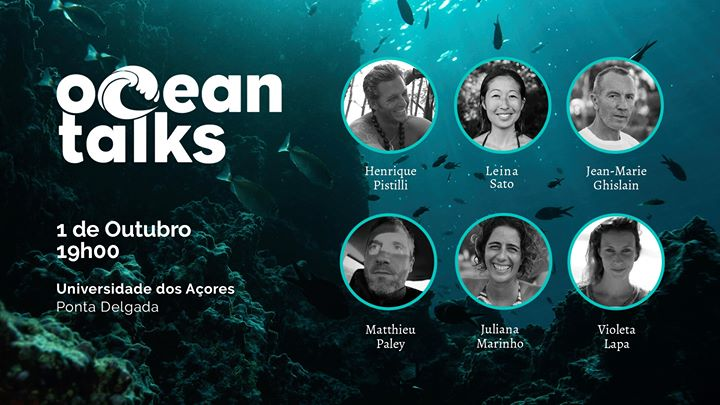 Ocean Talks · Entrada Livre