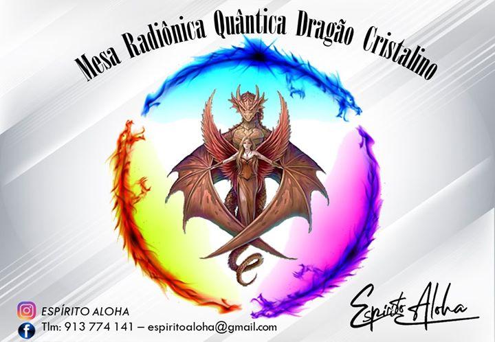 Curso Mesa Radiônica Quântica - Dragão Cristalino - Viseu
