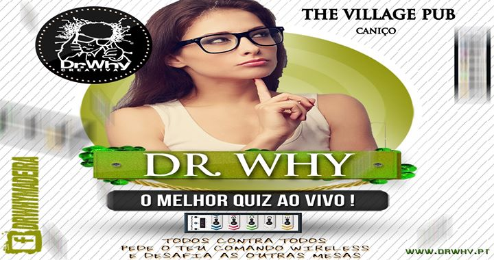 Dr.Why Madeira Live Quiz @The Village Pub