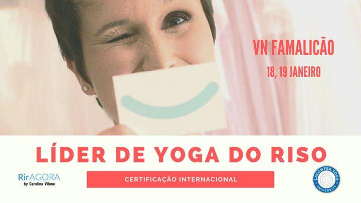 Certificação Internacional Líderes Yoga do Riso - VN Famalicão