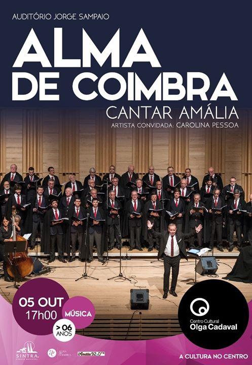 Alma de Coimbra em Cantar Amália | 5 out