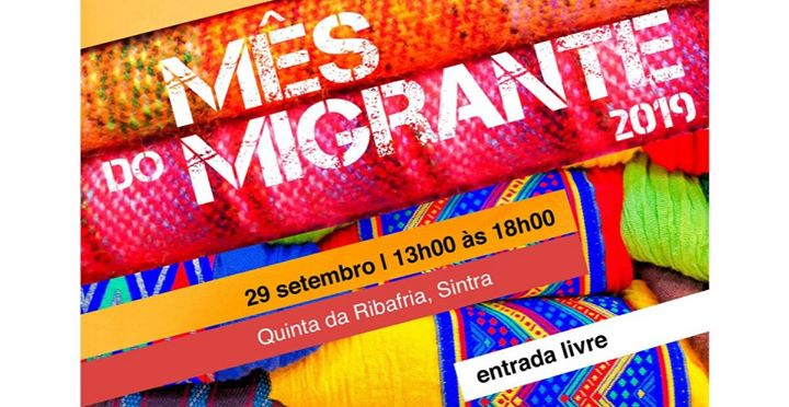 Mês do Migrante   29 de setembro