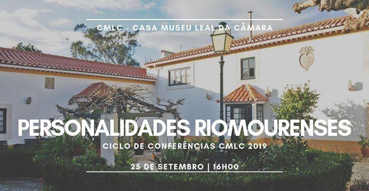 Ciclo de Conferências | 'Personalidades Riomourenses'