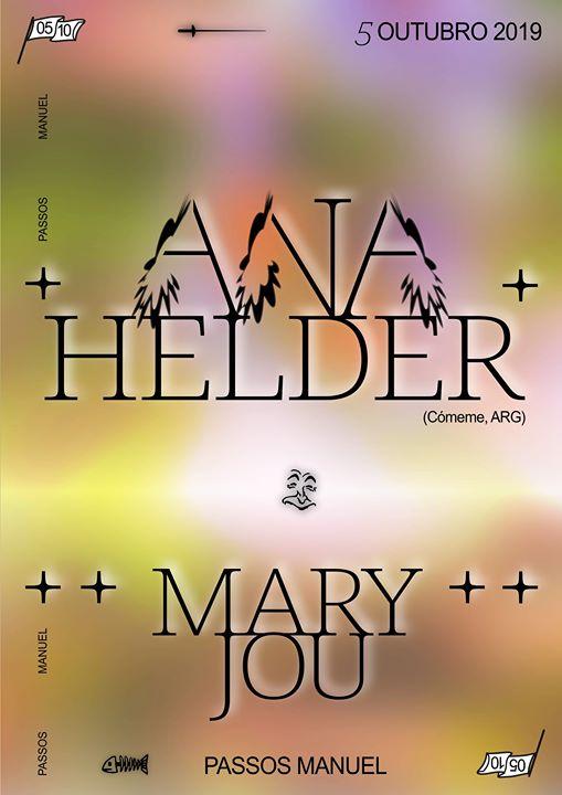 Ana Helder (Cómeme, ARG) & Mary Jou
