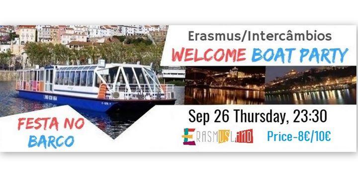 Erasmus Welcome Boat Party/Festa no Barco