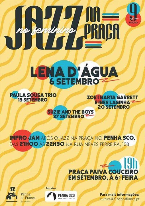 Impro Jam + Jazz na Praça