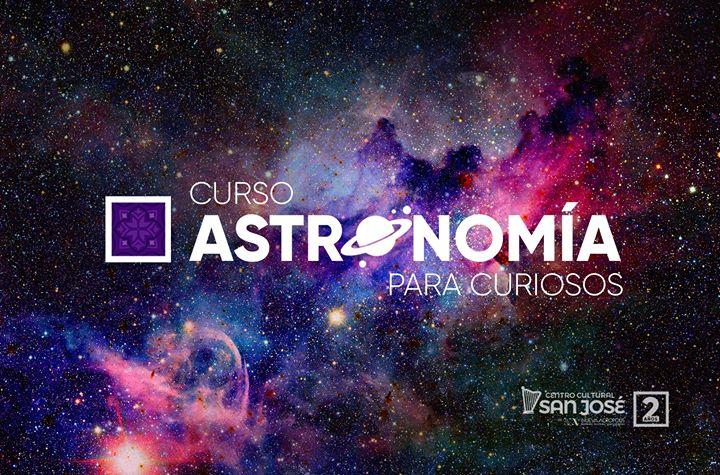 Curso Astronomía para curiosos