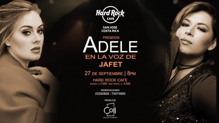 Adele en la voz de Jafet