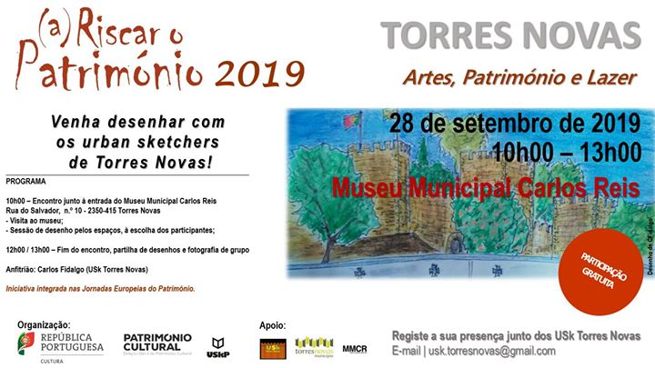 A Riscar o Património 2019 - Artes, Património e Lazer.