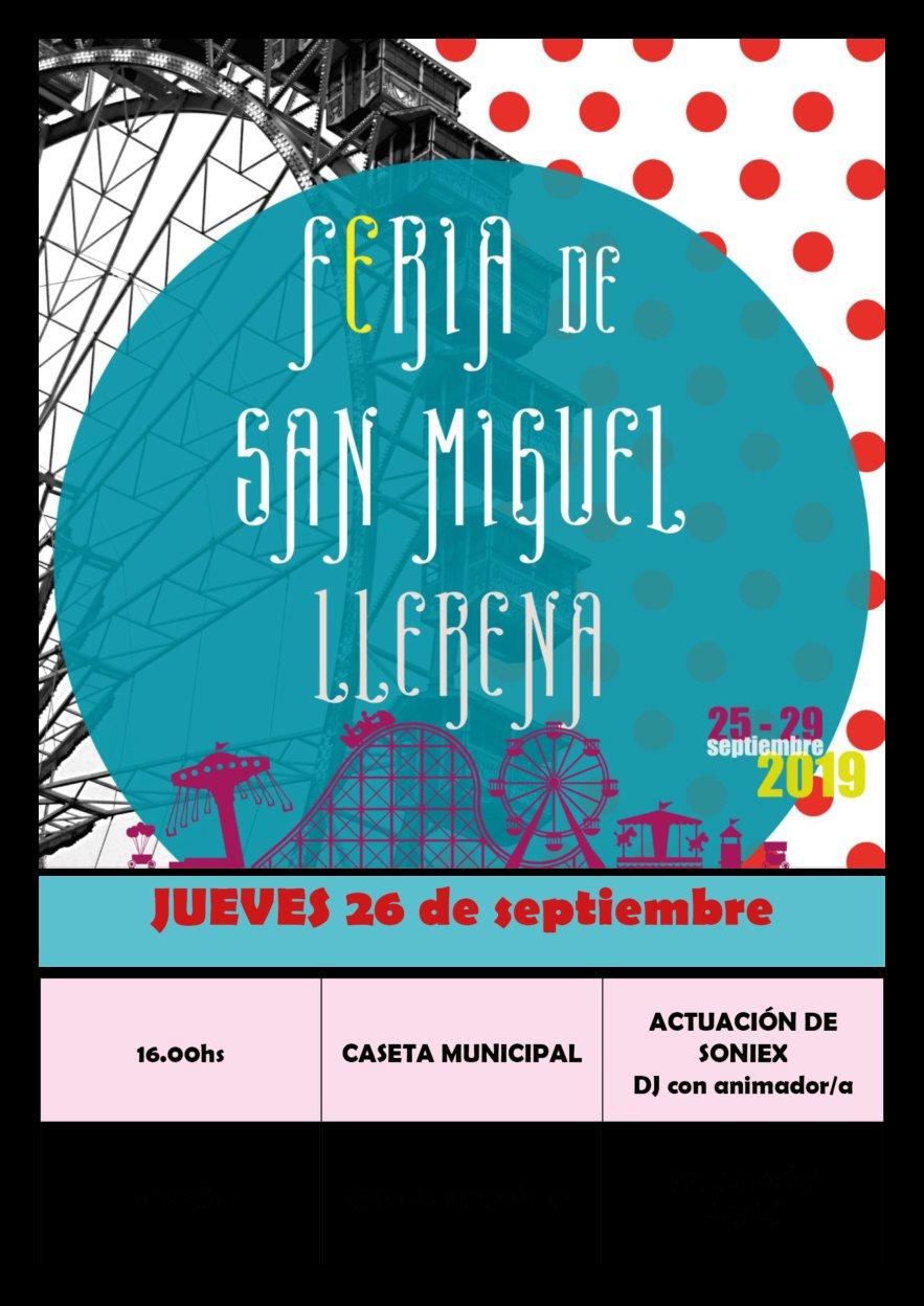JUEVES DE FERIA DE SAN MIGUEL 2019