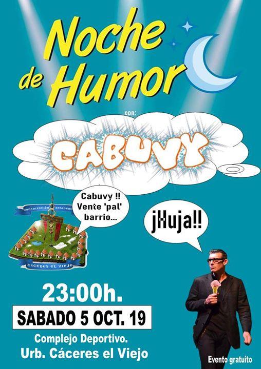 Noche de Humor con Cabuvy