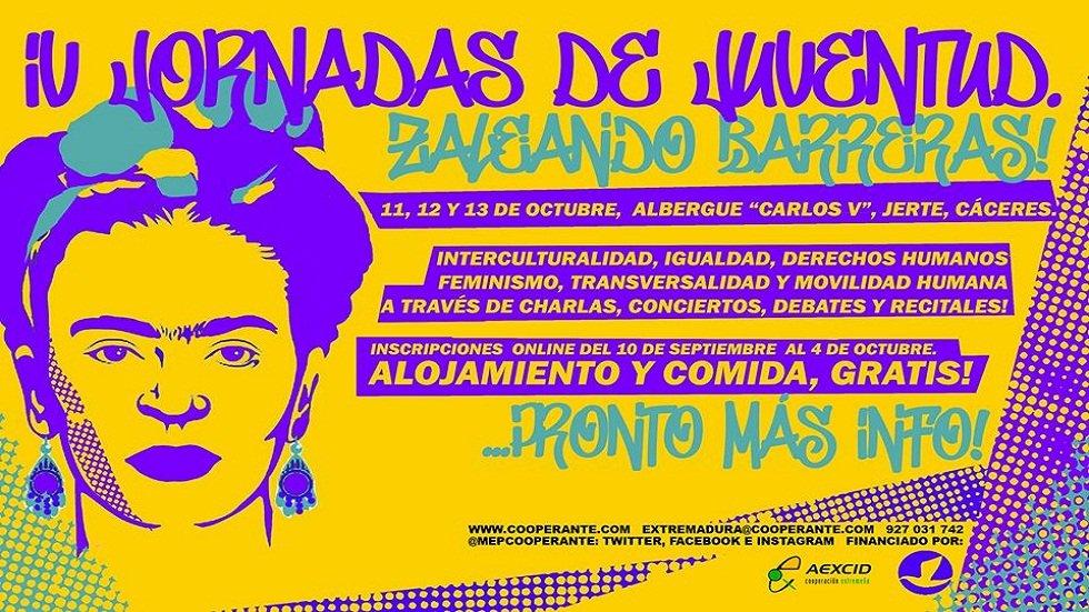 IV Jornadas de Juventud 'Zaleando Barreras' - JERTE (CÁCERES)