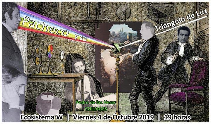 Inauguracion exposición: Pacheco y su Triángulo de Luz