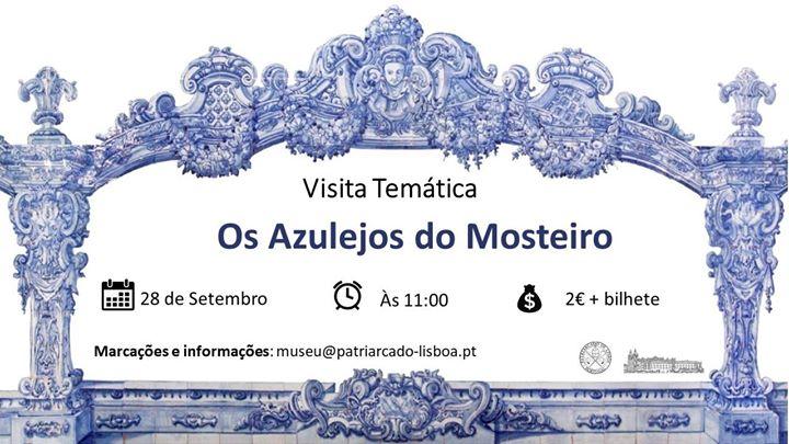 Visita Guiada: Os Azulejos do Mosteiro