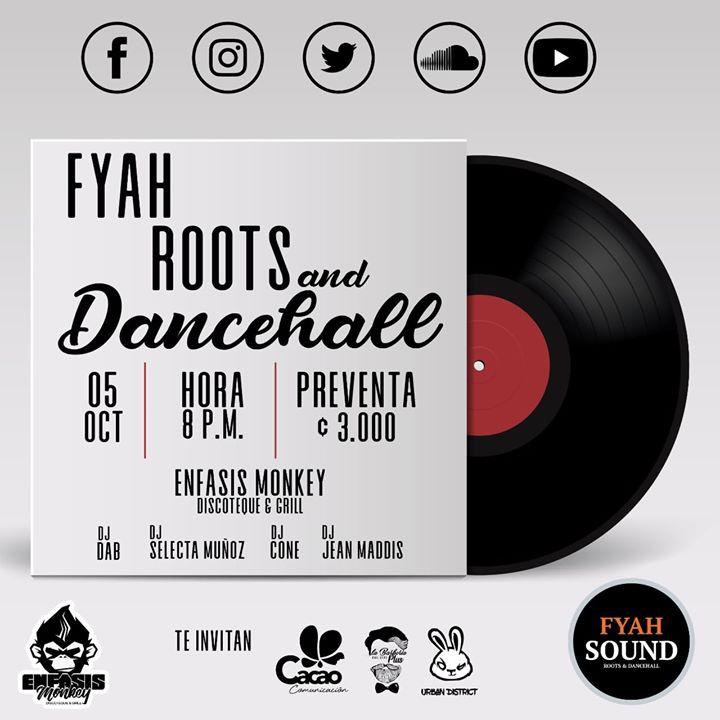 Fyah Night Roots & Dancehall
