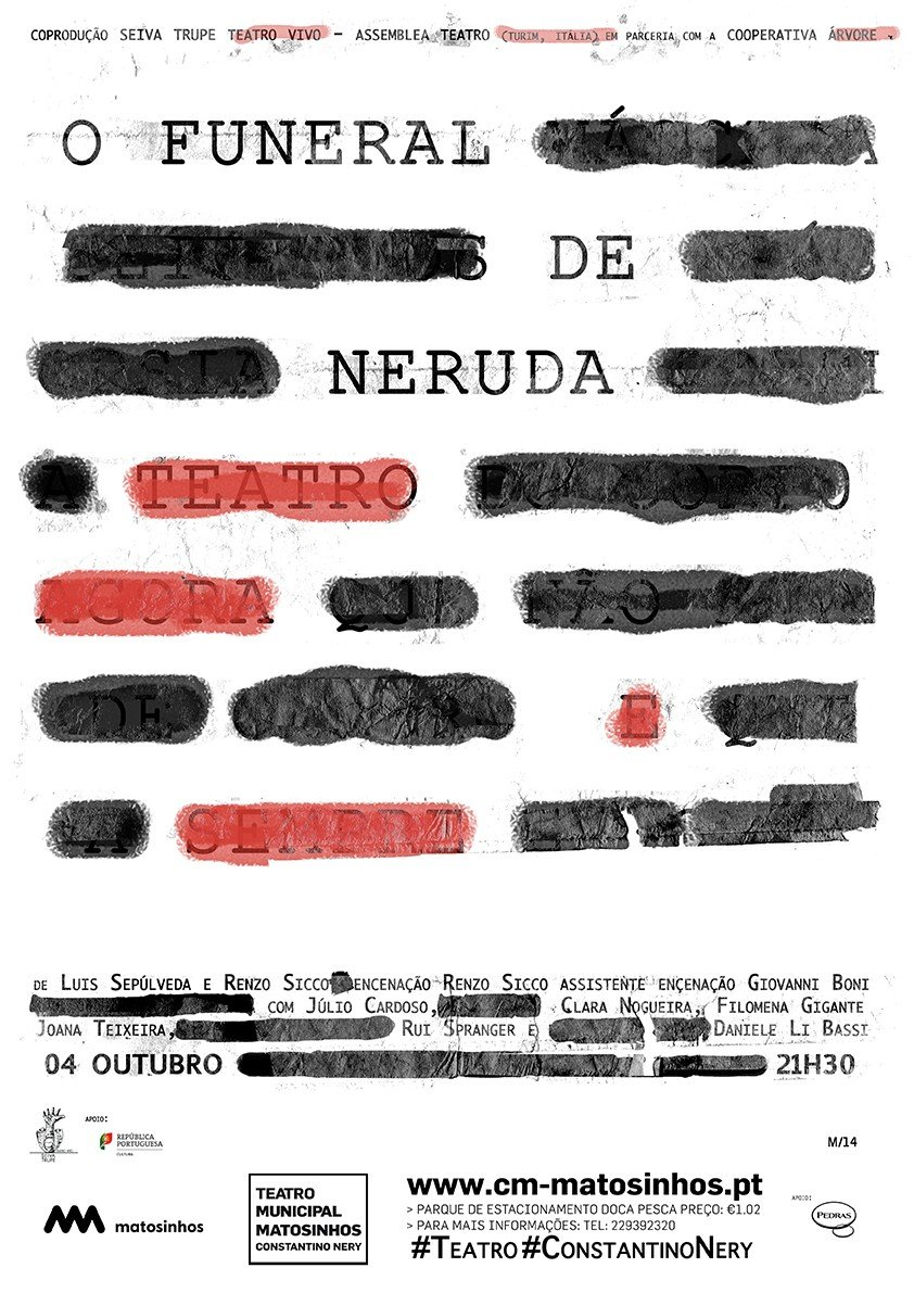 O Funeral de Neruda