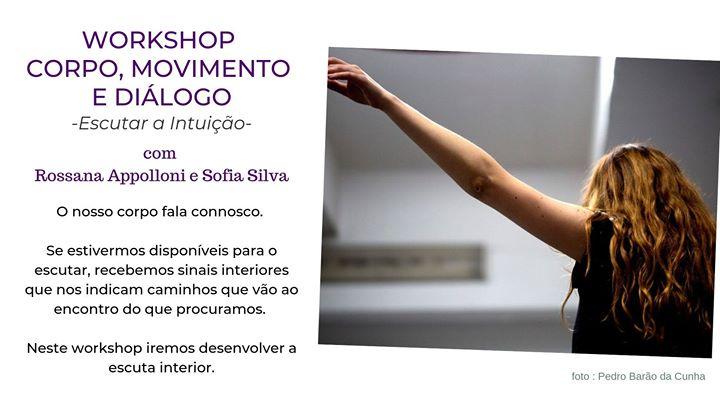Workshop Corpo Movimento e Diálogo - Escutar a Intuição