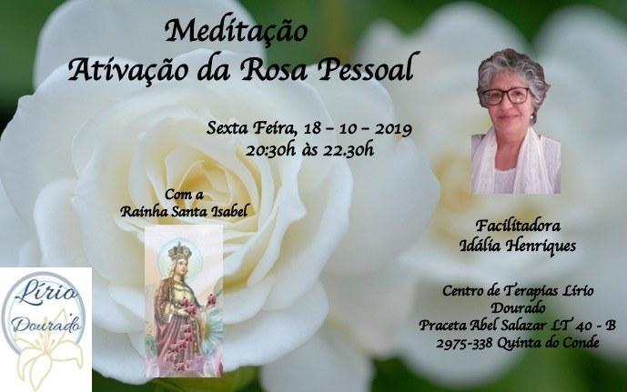 Meditação- Ativação da Rosa Pessoal com a Rainha Santa Isabel