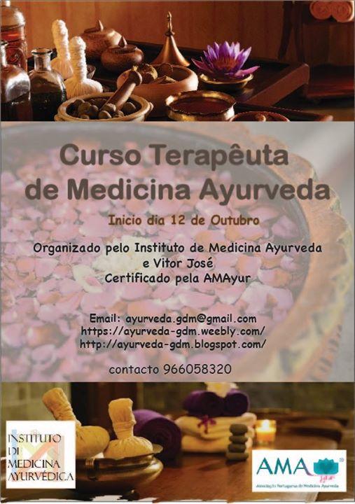 Curso de Terapêuta de Medicina Ayurveda