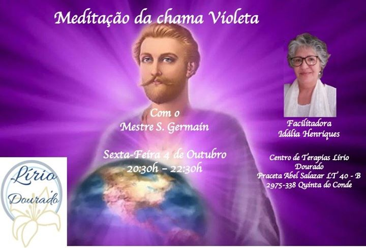 Meditação da chama Violeta