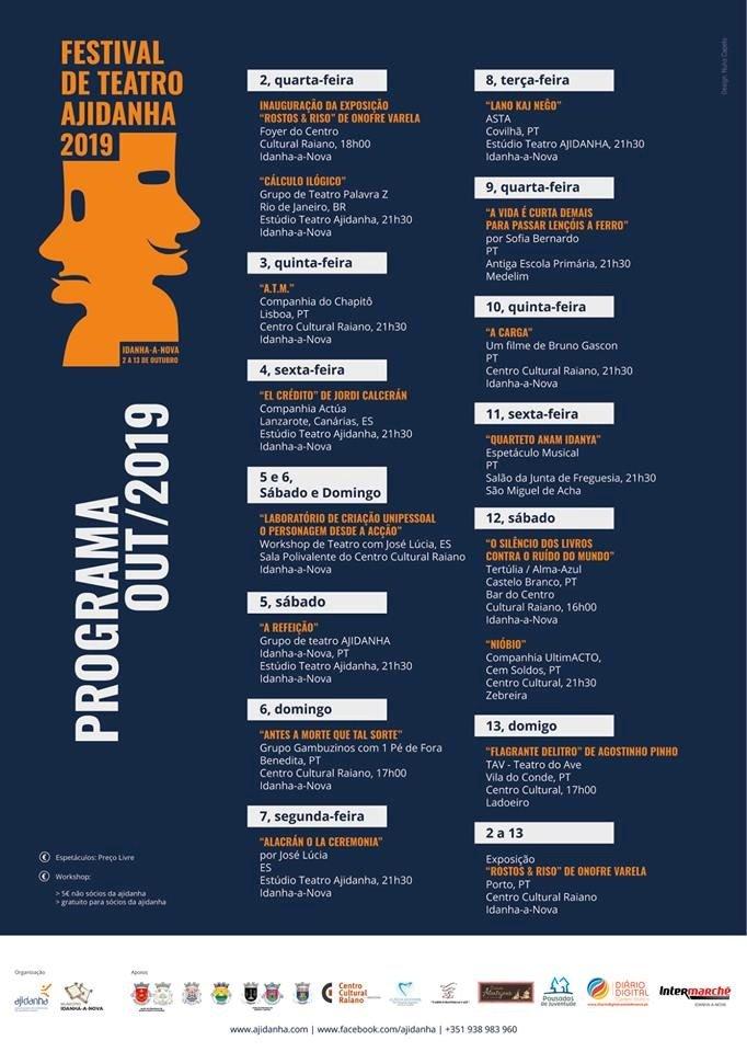 Festival de Teatro Ajidanha 2019