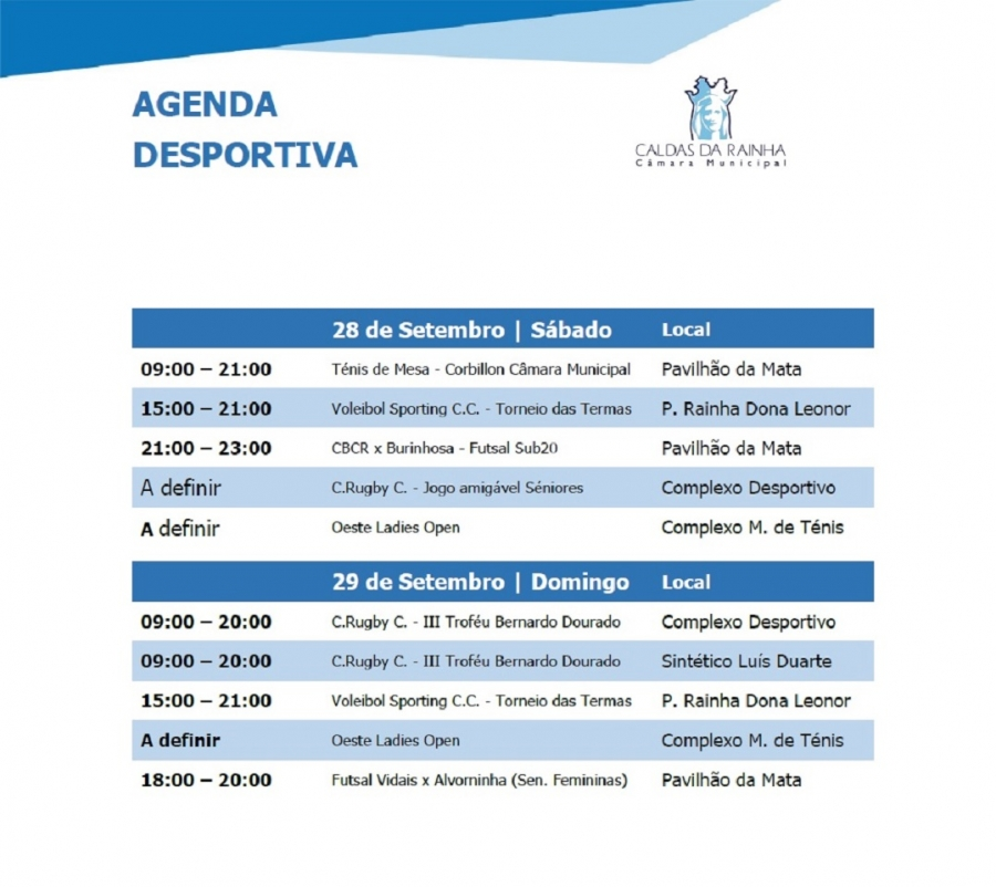 Agenda Desportiva