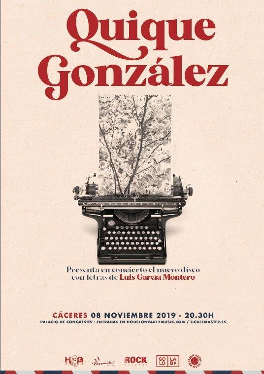Quique González, en concierto