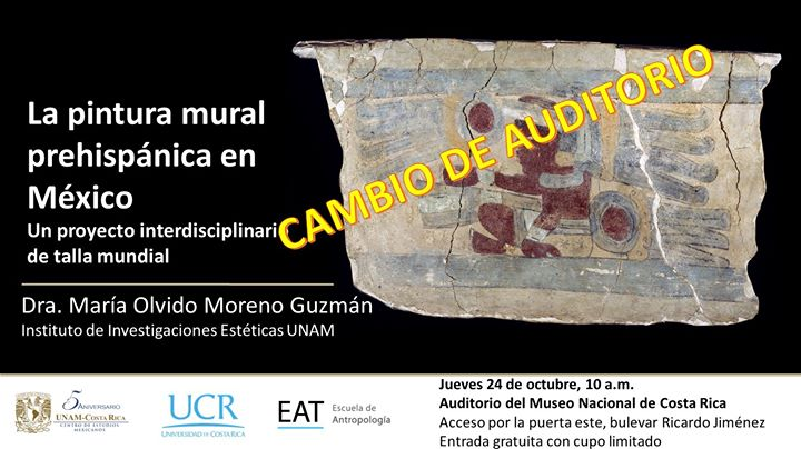 Clase magistral: Pintura mural prehispánica en México