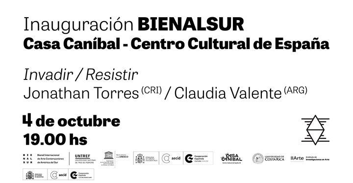 Exposición Invadir / Resistir
