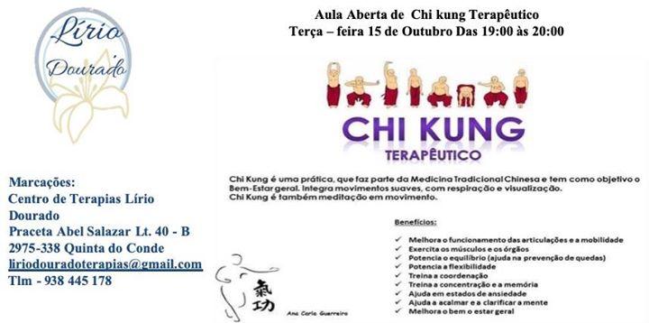 Chi Kung Terapêutico-Aula Aberta
