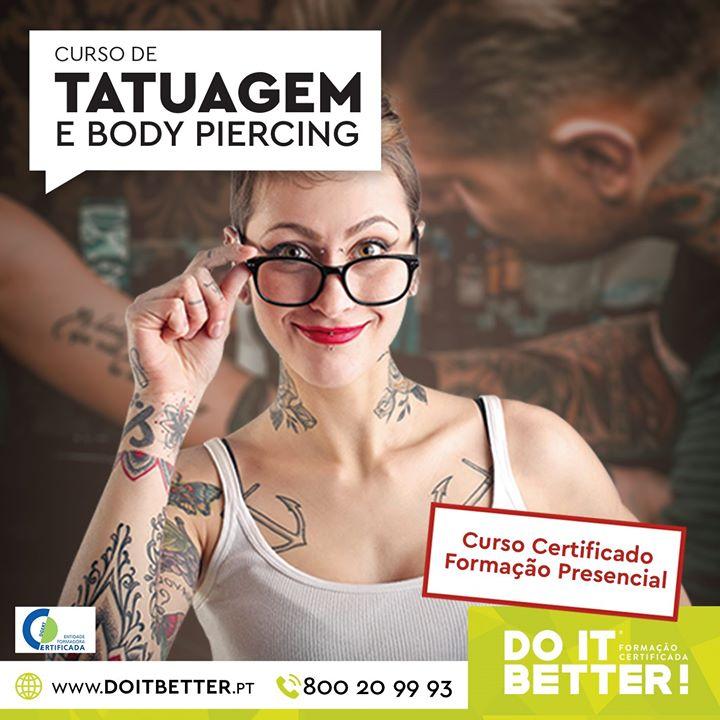 Curso de Tatuagem e Body Piercing