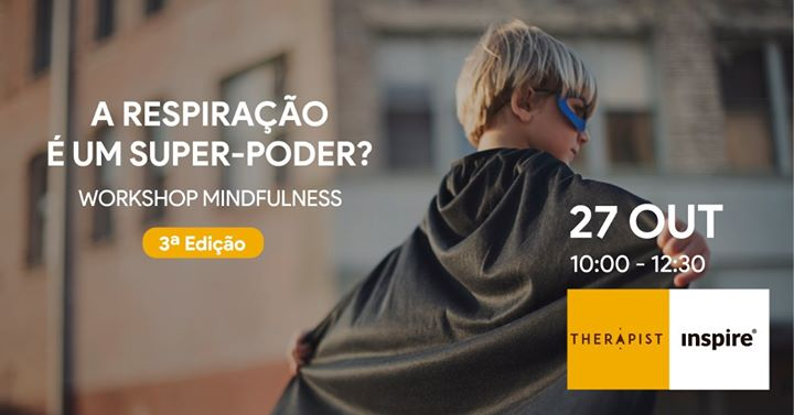 WS Mindfulness: A Respiração é um Super-Poder?
