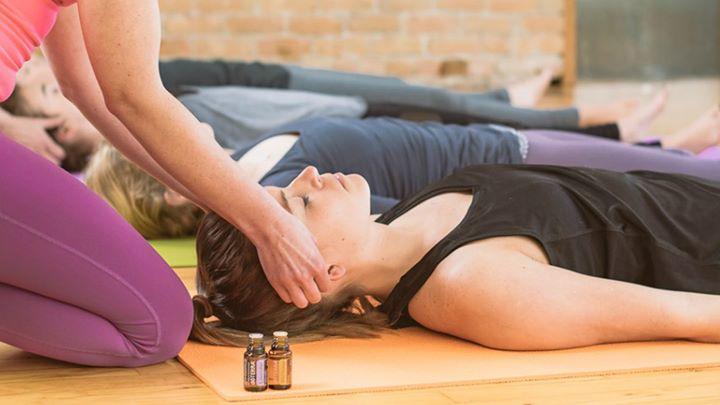 Yoga, Óleos Essenciais e Taças Tibetanas - Libertar