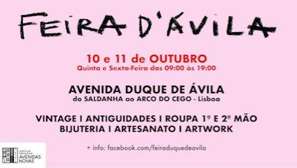 Feira D'Ávila - 10&11 de Outubro
