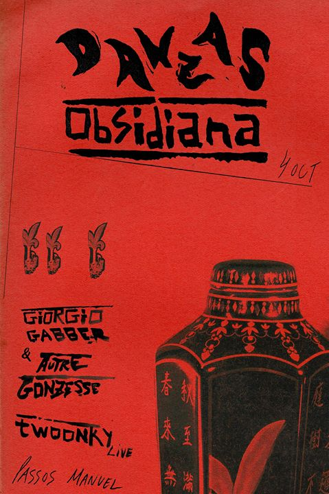Danzas Obsidiana Giorgio Gabber & Autre Gonzesse + Twoonky live