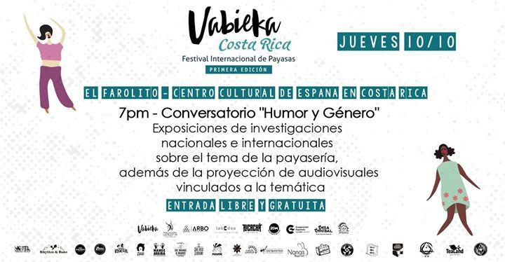 """Conversatorio """"Humor y Género"""" Festival Internacional de Payasas"""