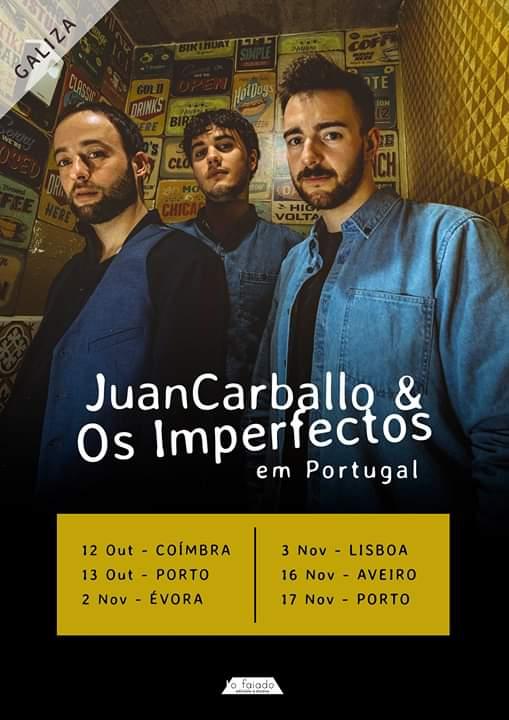 Juan Carballo e Os Imperfectos (GALIZA)