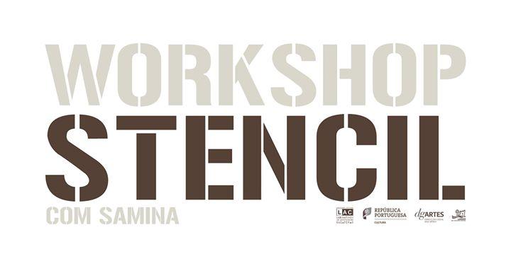 Workshop de Stencil com Samina - Lagos, Portugal