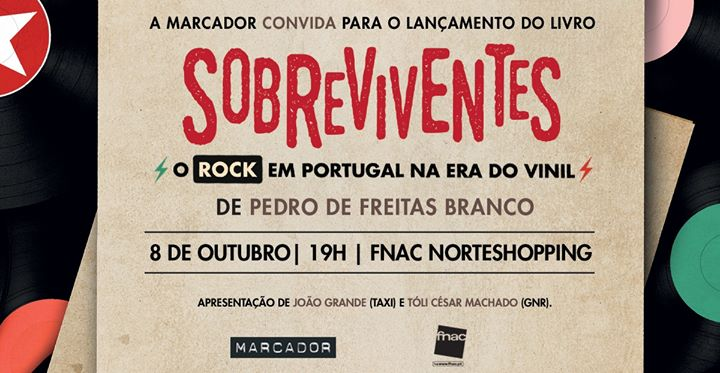 Lançamento «Sobreviventes - O Rock em Portugal na Era do Vinil»
