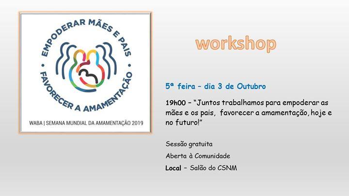 Workshop SMAM 2019